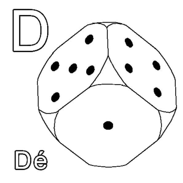 Dessin D a colorier