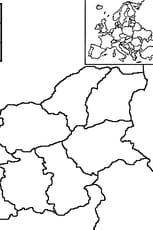 Coloriage carte Bulgarie en Ligne Gratuit à imprimer