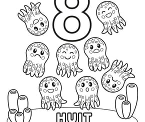 Chiffre8, les pieuvres