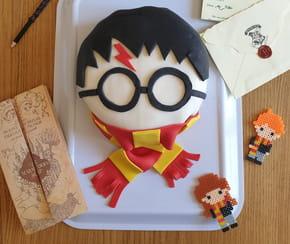 Gâteau Harry Potter: la pâte à sucre magique