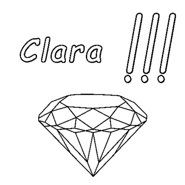 Coloriage Clara En Ligne Gratuit à Imprimer