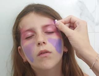 Étape 2: maquillage des joues
