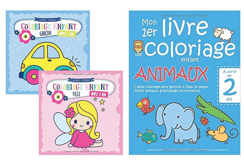 Cahiers De Coloriages Des La Maternelle