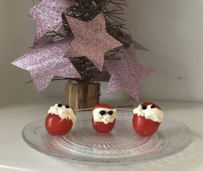 Tomates cerises père Noël [VIDEO]