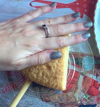 Gâteau sucette sapin - Étape 7