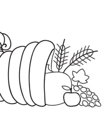 Thanksgiving corne abondance