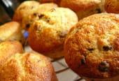 Muffins banane et pépites de chocolat