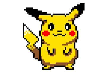 Pixel Art Pikachu