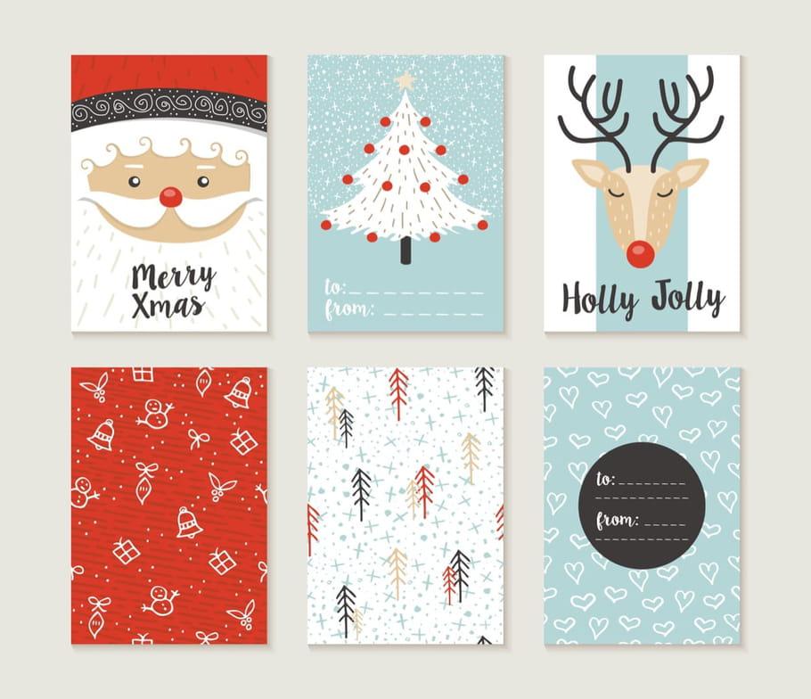 Carte de Noël: fabriquez et imprimez de belles cartes de Noël