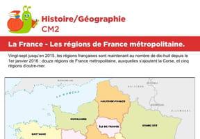 La France, les régions de France métropolitaine