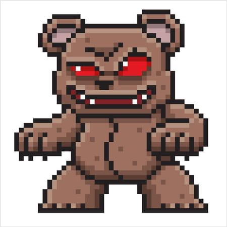 pixel-art-ourson-diabolique