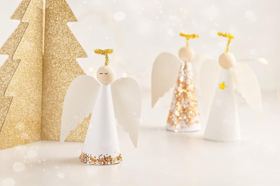 Décoration ange de Noël