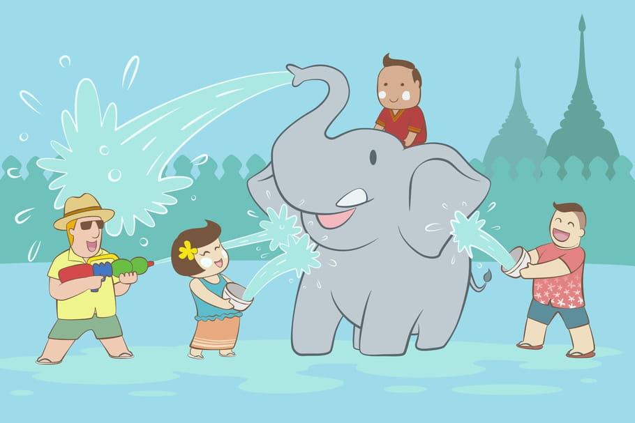 Comptine Les éléphants