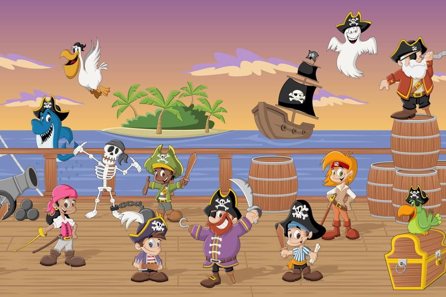 Comptine Les gentils pirates