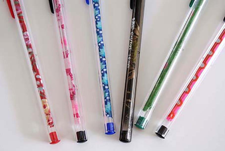 Personnalise tes stylos à bille