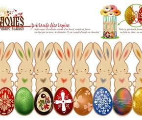 Lapin de Pâques à imprimer