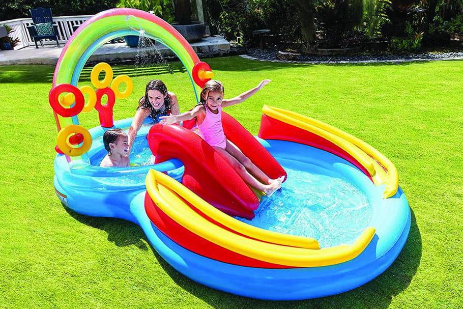 Les piscines gonflables pour rafraîchir votre été