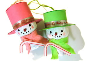 Mister Snow le bonhomme de neige