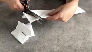 Étape 1: fabriquer les bandelettes de la momie
