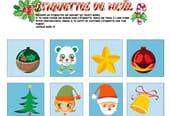 Étiquettes de Noël pour les enfants