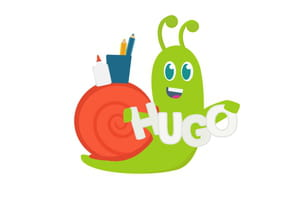 Hugo l'escargot sort de sa coquille