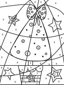 Coloriage Code Gs Noel.Coloriage Magique Noel Sur Hugolescargot Com