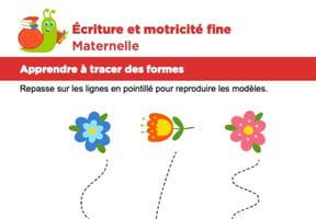 Motricité fine Maternelle, les papillons et les fleurs