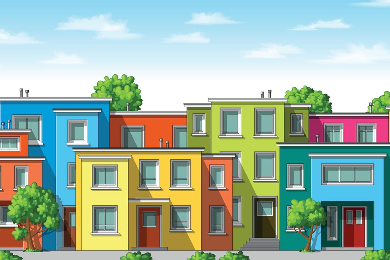 Coloriage Maison Sur Hugolescargotcom