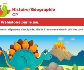 La préhistoire par le jeu, le labyrinthe du stégosaure