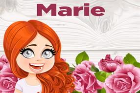 Marie : prénom de fille lettre M