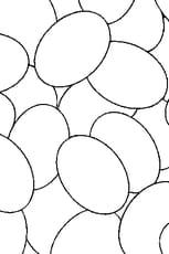 Coloriage Des oeufs de Pâques en Ligne Gratuit à imprimer