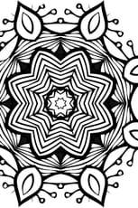Coloriage mandala complexe