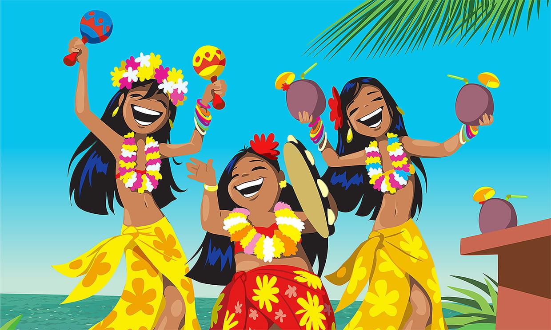 кот поздравление в стиле гавайской вечеринки произошло накануне вечером