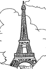 Coloriage tour eiffel