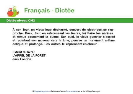 fiche-dictee-niveau-cm2