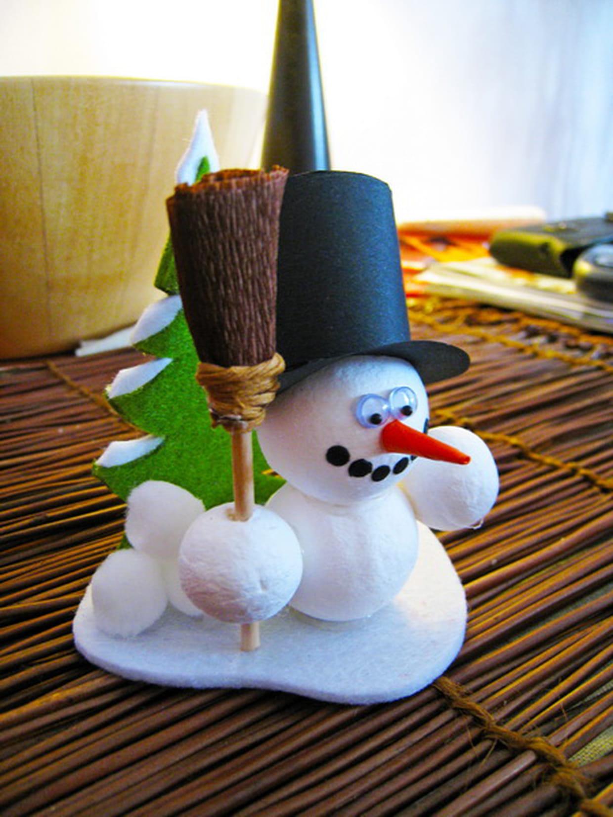 Comment Faire Des Boule A Neige bonhomme de neige