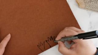 Étape 4: créez les pattes du hérisson