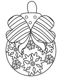 Coloriages De Noël Gratuit à Imprimer Page 1