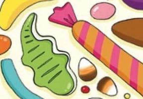 Marque-page bonbons