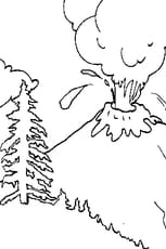 Coloriage Volcan