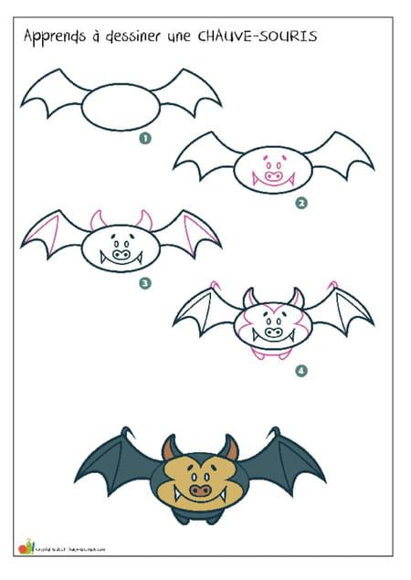 apprendre-a-dessiner-une-chauve-souris