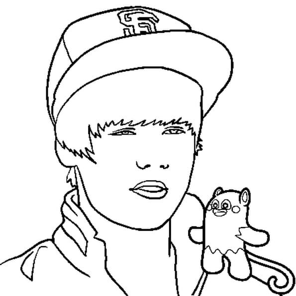 Justin bieber 2 coloriage justin bieber 2 en ligne gratuit a imprimer sur coloriage tv - Justin bieber dessin ...