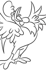 Coloriage Le chant du coq