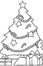 Coloriage Arbre Noël
