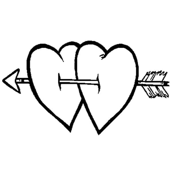 Comment dessiner des amoureux - Comment dessiner un coeur ...
