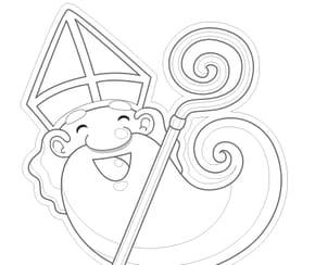 tête de Saint-Nicolas