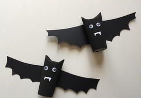 Chauve-souris d'Halloween en rouleau de papier toilette [VIDÉO]