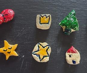 Fèves en pâte à sel pour la galette des rois [VIDEO]