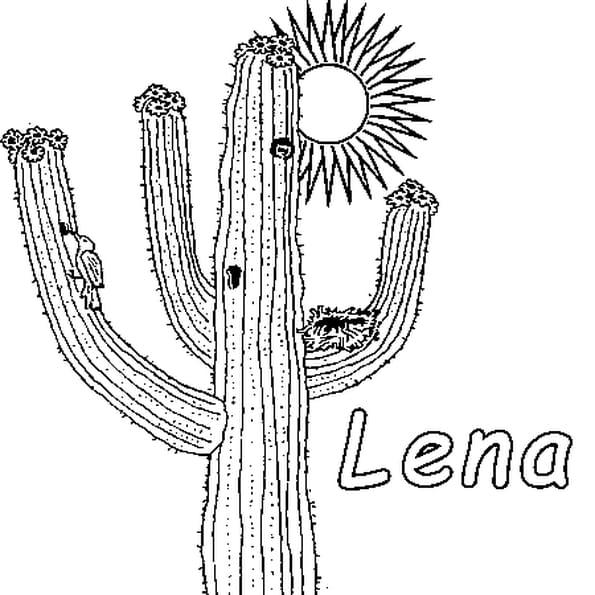 Coloriage Lena en Ligne Gratuit à imprimer