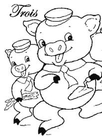 les 3petits cochons